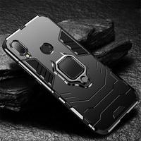 Fall Auf Die Für Xiaomi Redmi Hinweis 8 8T 7 6 Pro 5 4X 4 in 1 Luxus Magnetische stoßfest Auto Ring Abdeckung Für Redmi 4X 6X A2 5X A1 7