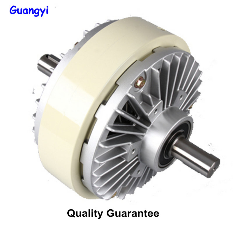 Two axis Magnetic Powder Clutch 0.6  40kg Magnetic Powder Brake 24V Motor Tension Control Dynamic Powder Brake|Air Conditioner Parts| |  - title=