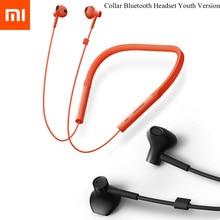 Original Xiaomi Collar Bluetooth Headset Youth Version 2018 New Neckband Sports Earphone Fast Charge Mi Wireless Headphones