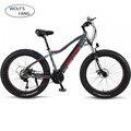 Новый электрический велосипед Ebike 27 скорость 10AH 48V 500W E велосипед 26*4,0 горные велосипеды толстый велосипед шоссейный электровелосипед алюмин...