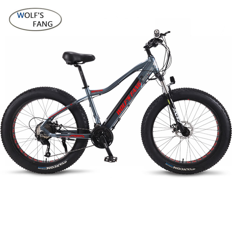 Nova Bicicleta Elétrica ebike Velocidade 27 10AH 48V 500W E bicicleta 26*4.0 Bicicletas de Montanha de bicicleta Gordura estrada bicicleta Elétrica Da Liga de Alumínio