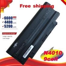 HSW, batería para ordenador portátil, J1KND para DELL Inspiron N4010 N3010 N3110 N4050 N4110 N5010 N5010D N5110 N7010 N7110 M501 M501R M511R
