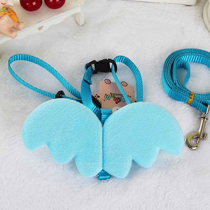 Dog Chest And Back Hand Holding Rope Dog Rope Pet Chest Wing Angel Suspender Strap Vest Style Chest And Back Teddy Dog Puppy