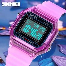 SKMEI Watch Chronograph Led-Light Sport-Clock Digital Waterproof Fashion Luxury 50M Top-Brand