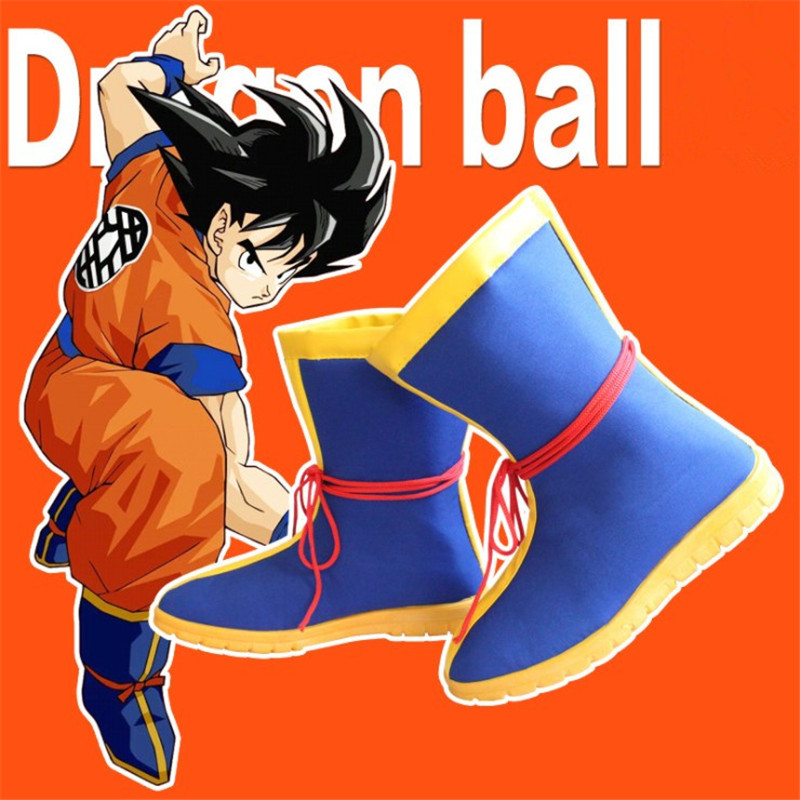 Couvre-Chaussures de Cosplay Son Goku