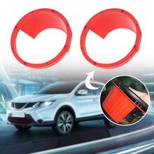 """Автомобильные аксессуары 2 шт. 6,"""" Автомобильный кронштейн для передней двери динамика, переходное кольцо для Ford Honda VW и т. Д"""