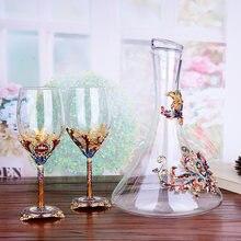 Высококачественная эмалированная винная чашка набор графинов