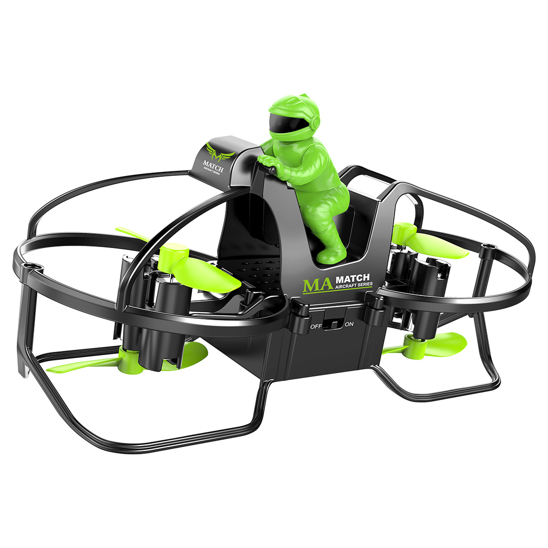 Watch Gravity Sensing RC Motorcycle Aircraft Four-axis Fixed-height Motorcycle Aircraft Gift Toy