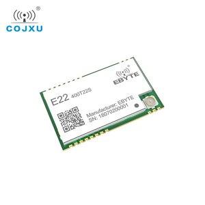 Image 5 - SX1268 TCXO UART LoRa netto pracy E22 400T22S SMD stempel otwór RSSI bezprzewodowy Transceiver 22dBm 433MHz IPEX moduł RF odbiornik