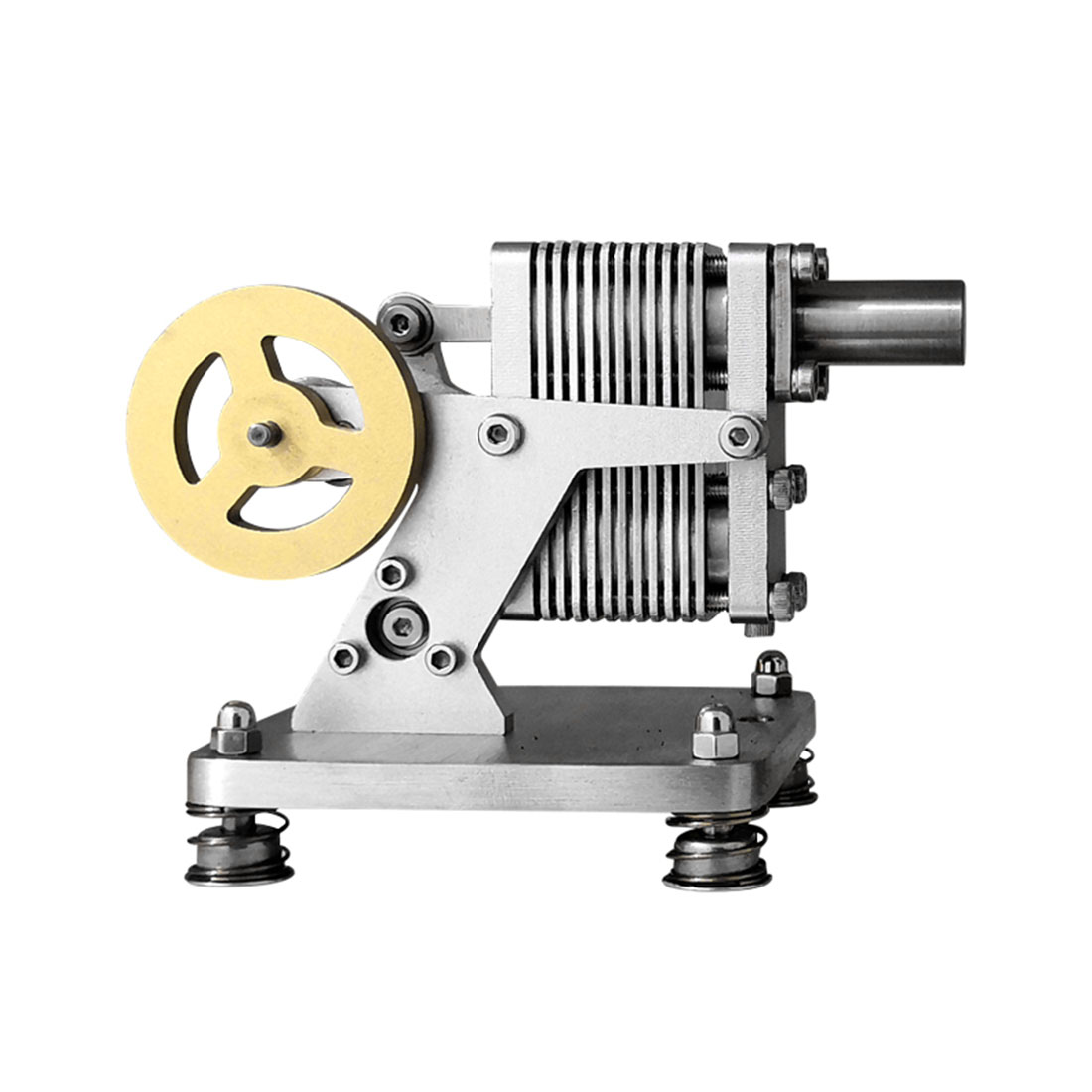 Full Metal Stirling Engine Model Mini Generator Model Steam Science Educational Engine Toy Model Building Kit 2020 New Arrival