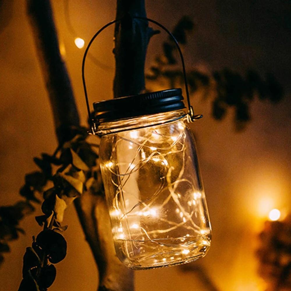 1pcs Bottle Light 20 LED Warm White LED Night Light Modern Mason Jar Lamp Home Decor.jpg Q90.jpg