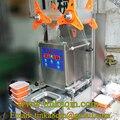FGJ-AY1-1Automatic 95 чашка мм запайки молока чай герметик гайка машина для закатки банок фрукты запечатывающая машина для коробок пластиковый лоток...