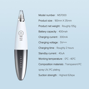 Image 5 - InFace Vakuum Mitesser Entferner Hautpflege Poren Akne Pickel Entfernung Mitesser Entfernung Gerät Vakuum Poren Reiniger