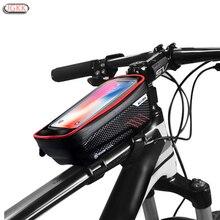 TPU Im Freien Wasserdichte Bike Motorrad Handy Halter Stehen Für Xiaomi CC9 Redmi hinweis 7 8 Touchscreen Fahrrad Regendicht