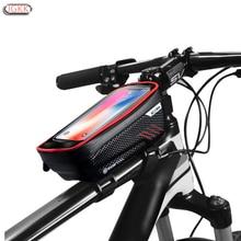 TPU Outdoor Impermeabile Della Bici Del Motociclo Del Telefono Mobile Del Supporto Del Basamento Per Xiaomi CC9 Redmi nota 7 8 Touch Screen Bicicletta Antipioggia
