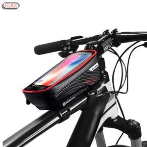 Image 1 - TPU na świeżym powietrzu wodoodporna rower motocykl uchwyt na telefon komórkowy stojak na Xiaomi CC9 Redmi note 7 8 ekran dotykowy rowerów, odporny na deszcz,