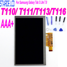 цена на For Samsung Galaxy Tab 3 Lite 7.0 T110 SM-T110 LCD T111 LCD Screen T113 T116 LCD Display Touch Screen Panel Monitor Module