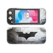 Nintendoswitch pele adesivo batman e superman decalque capa para nintendo switch lite protetor nintend interruptor lite pele adesivo
