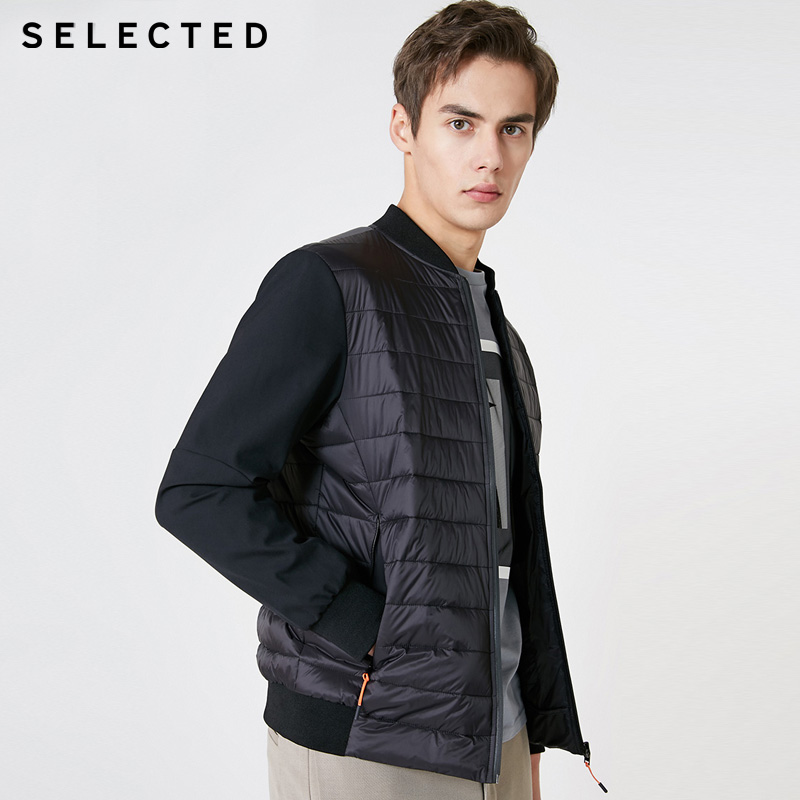 SELECTED Winter Mens Short Sports Thermal Cotton Coat | 419122503