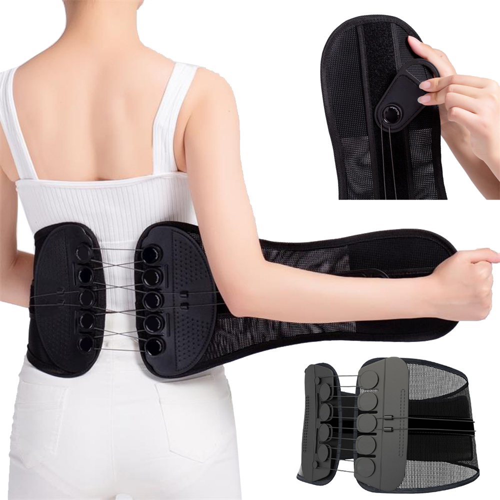 Adjustable Power Pulley Back Support Belt