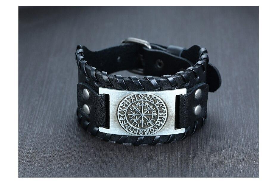 Hd24e6f1a9bf94290b0ea714bf458634dj - Viking Leather  Bracelets