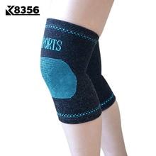 K8356 спандекс спортивный наколенник колодки теплые дышащие для мужчин и женщин Фитнес Открытый Бег волейбол защитный наколенник 1 пара