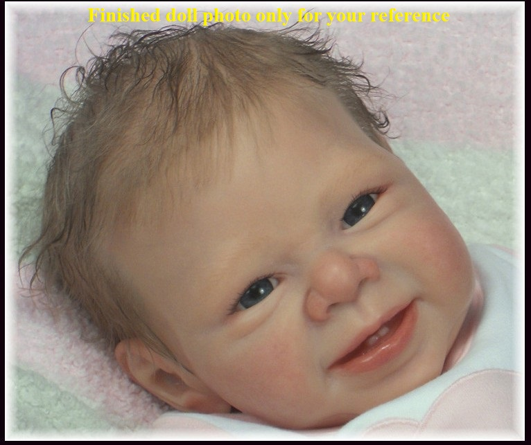 Most Popular  Limited Edition Reborn Doll Kit Authentic Original  Kit 22inches Reborn Supply