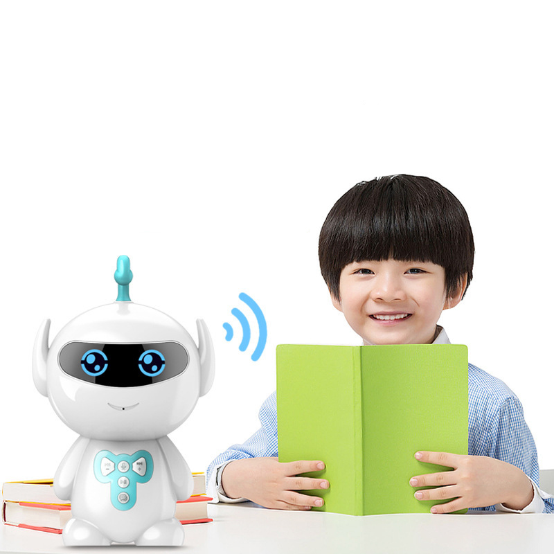 Baby Toys Intelligent Robot Early Education Machine Smart Children AI Voice Interaction Robot Toy Baby Learning Story Machine