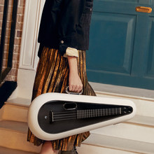 LAVA U 23inch 26inch Carbon fiber Ukulele FreeBoost Electric Travel Ukulele With Case pick USB Cable LAVA MUSIC Instrument