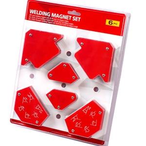 Image 5 - 6 sztuk/zestaw trójkąt pozycjoner spawalniczy magnetyczny stały kąt lutowania lokalizator narzędzie bez przełącznika akcesoria spawalnicze