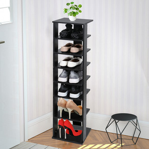 Деревянные стеллажи для обуви Подставка для хранения обуви 7 ярусов органайзер для обуви