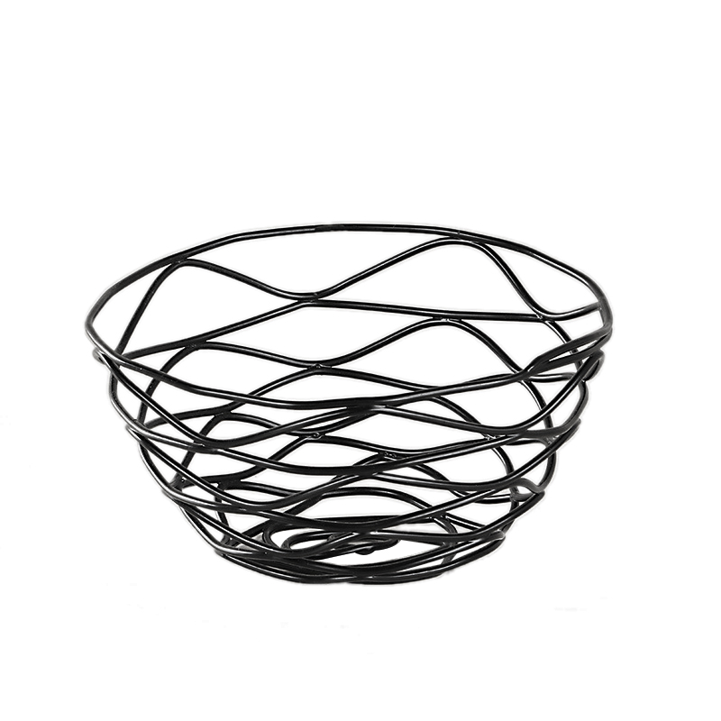 Iron Fruit Basket Holder Storage Snack Basket Household Tea Table Fruit Basket for Home Dining Table Decor|Storage Trays| |  - title=