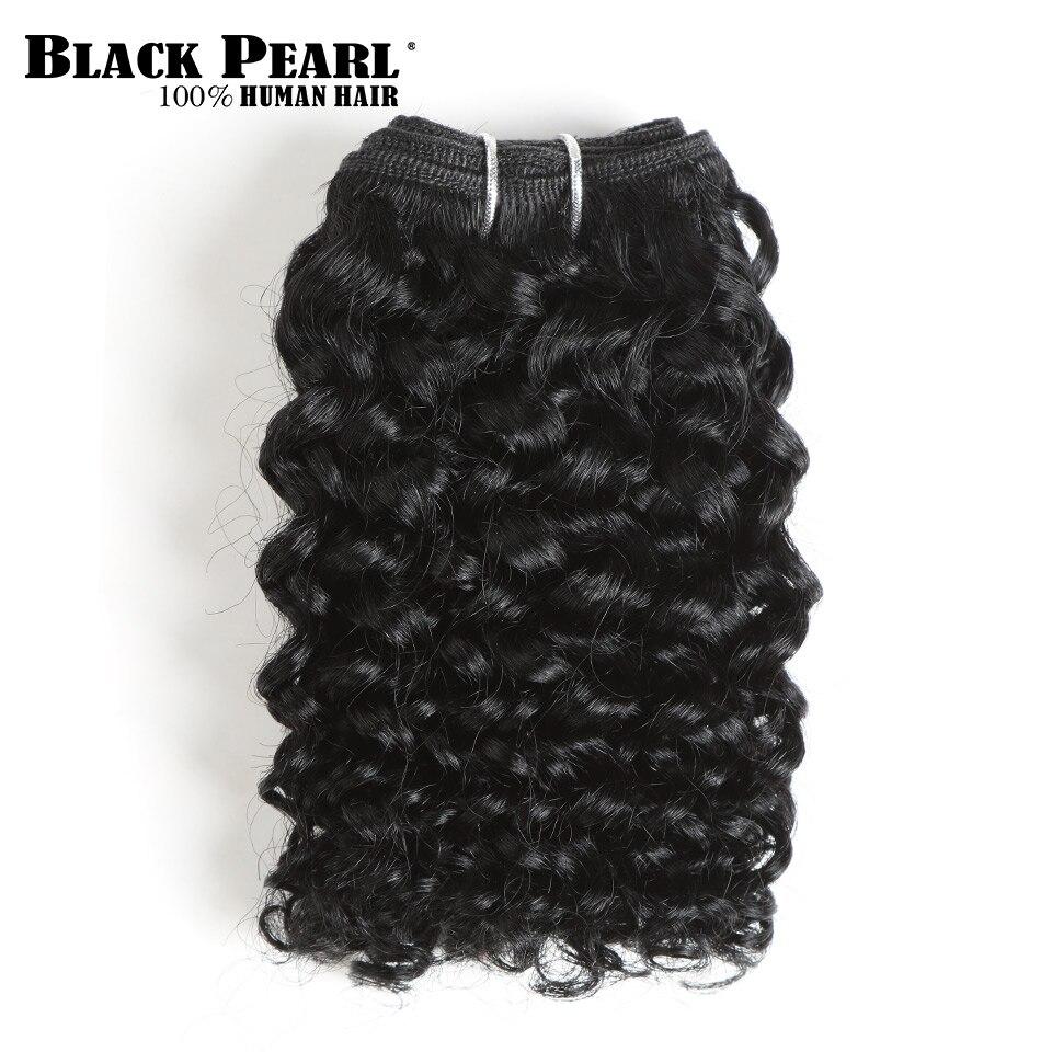 Short Brazilian Hair Weave Bundles Remy Kinky Curly Hair 4pcs Cheap Human Hair Bundles 8 10 12 14 Inch  Curly Bundles