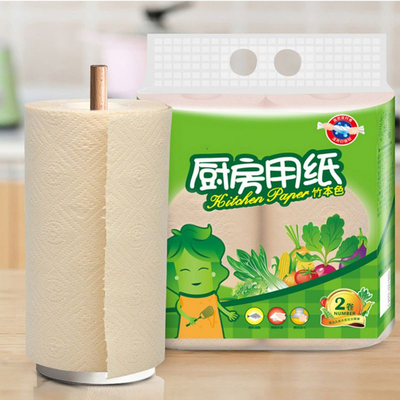 Disposable Dish Cloths Cleaning Towel Kitchen Rag Multi Wood Pulp Toilet Paper Wet Oil Wash Cloth No Paper Towel