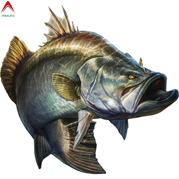 Aliauto Fashion Go Fishing Troops Car Sticker Big Fish Boat Kayak Automobiles & Motorcycles Decoration Vinyl Decal,20cm*19cm 3 sizes outdoor sports go fishing white perch car sticker window fish tank decal vinyl tape h8100