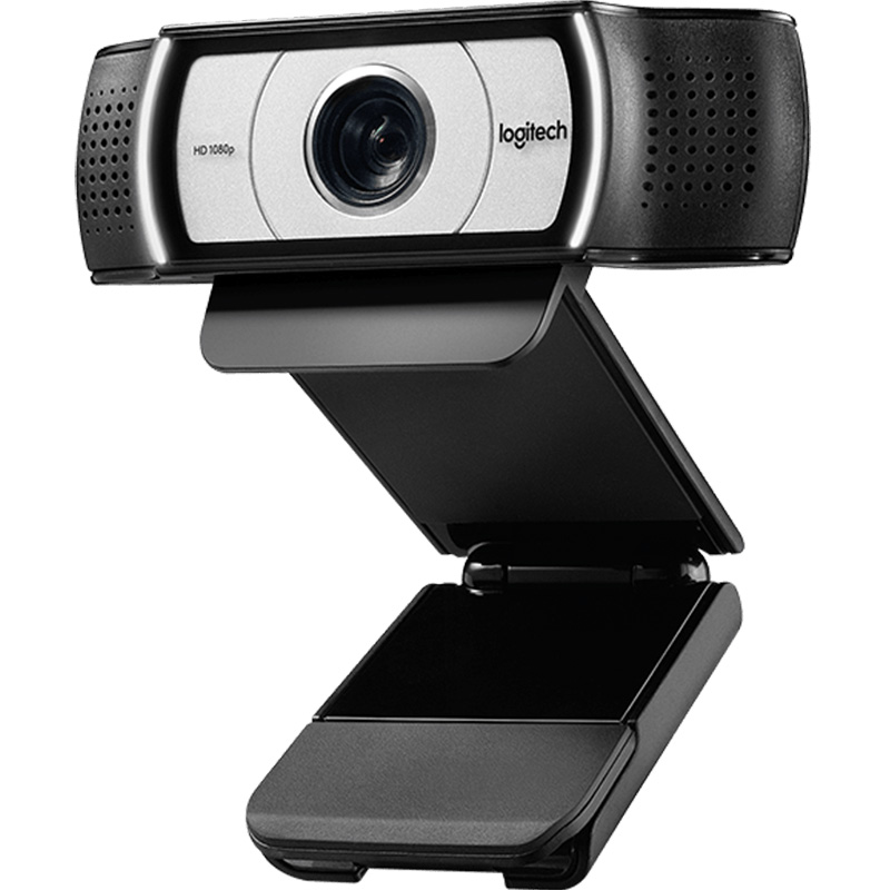 Logitech 90 degree wide-angle HD USB Webcam Suitable for Laptop/LCD/CRT Monitor 9