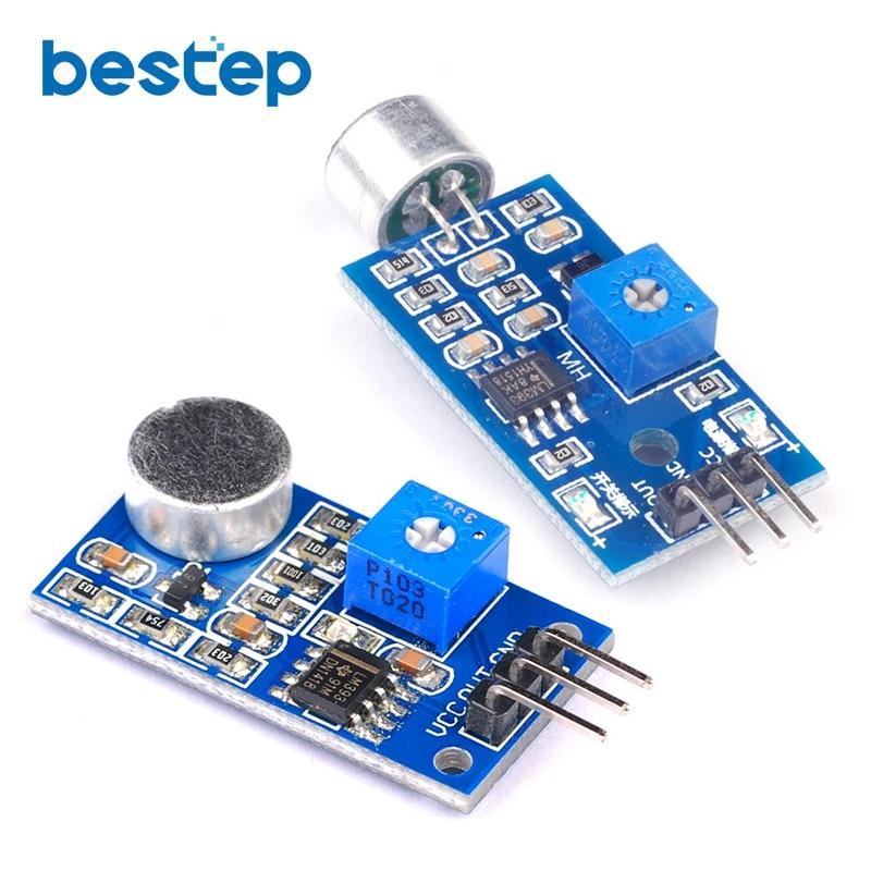 3pin Voice Sound Detection Sensor Module Arduino DIY Intelligent Smart