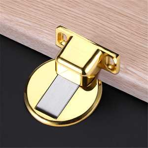 Door-Suction-Device Stops Anti-Collision-Punch Magnetic Invisible Stainless-Steel Home