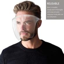 Goggles Face-Shield Eye-Protection-Glasses Safety Anti-Fog Visor Screen-Mask Transparent