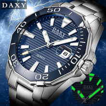 DAXY Brand Luxury Men's Quartz Watches Waterproof Quartz Ste