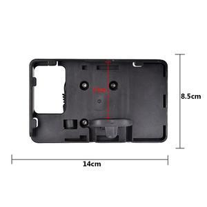 """Image 5 - טלפון נייד ניווט סוגר עבור BMW R1200GS עו""""ד F700 800GS CRF1000L אפריקה Twin עבור הונדה אופנוע USB טעינה 12MM moun"""