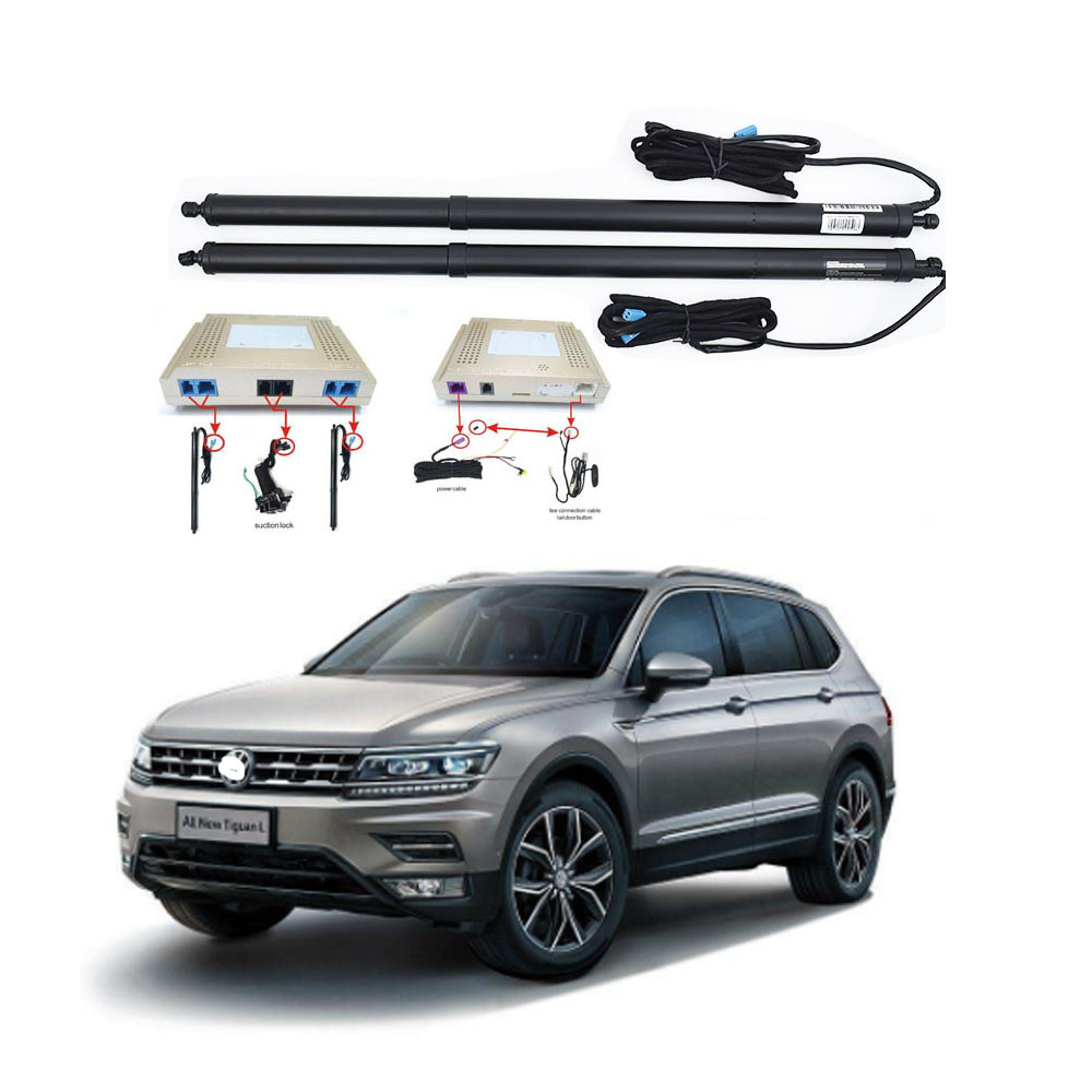 New Electric Tailgate Refitted For VW TIGUAN 2017 - Tail Box Intelligent Electric Tail Door Power Tailgate Lift Lock