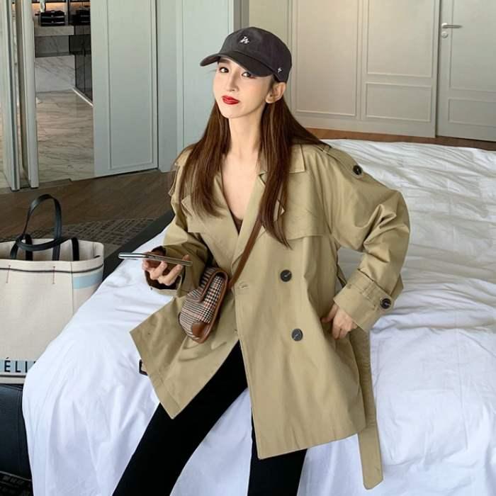 Women Blazer Female 2019 Winter Coat Pockets Fashion Long Suits Woman Winter Ladies Runway  Jackets Fomal Blazer For Women S0102