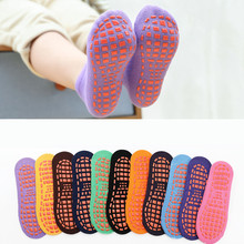 Autumn Winter Spring Summer Breathable Non-slip Floor Socks Boy Girl Socks Home Baby Kids Socks Cotton Candy Color Ankle Socks(China)