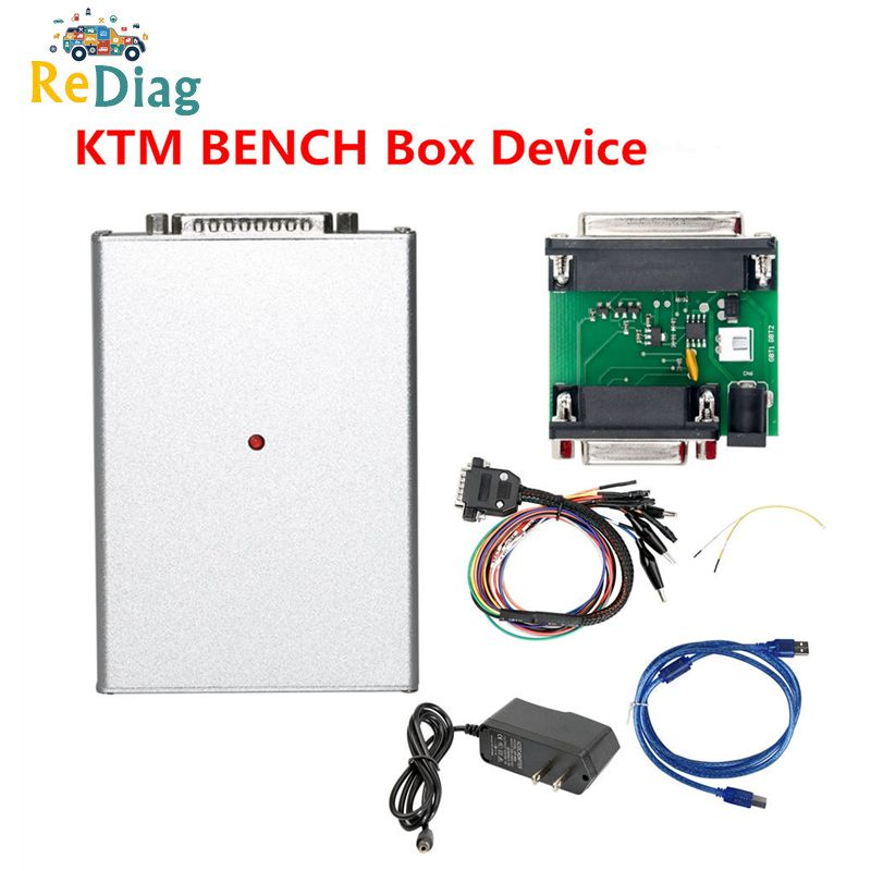 NEW KTMBENCH ECU Programmer for BOOT and Bench Read and Write No Limits of the car model and year + No Need disassemble ECU Read