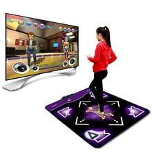 Dance Pad Dancing Step Dance Mat Pad Pads Dancer Blanket Equipment Revolution Hd Non-slip Foot Print Mat For Sense Game US#g3