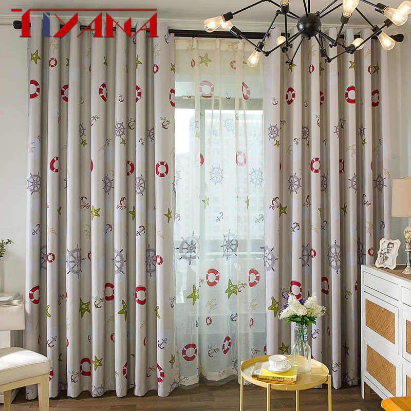 Blackout Curtains For Children Room Boy
