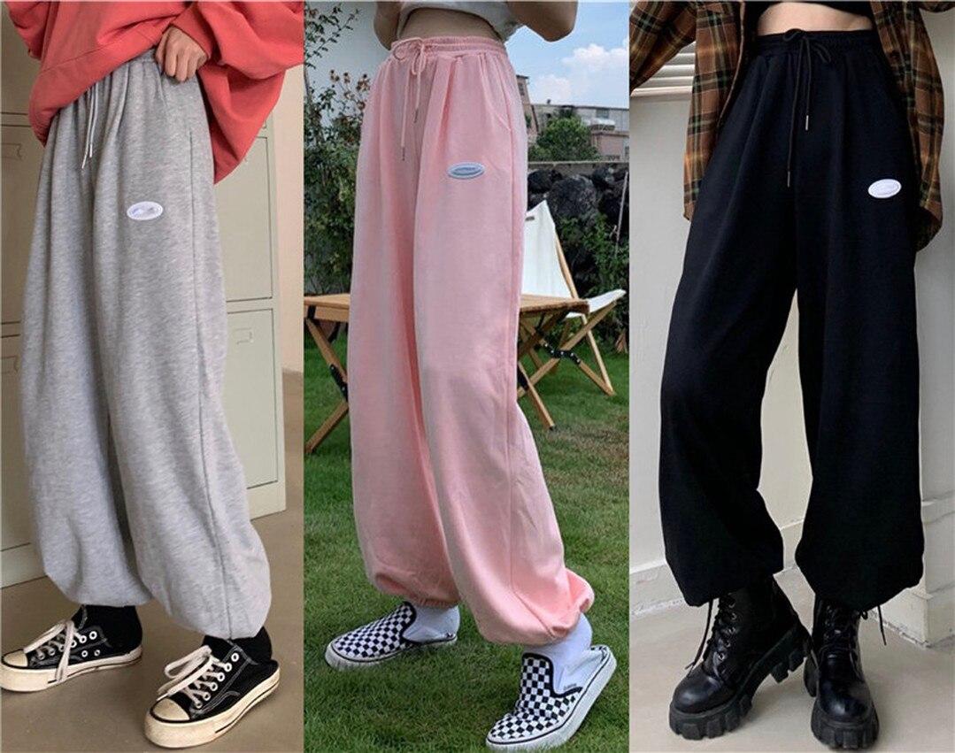 Autunno 2021 nuovi pantaloni casual in tinta unita in edizione coreana