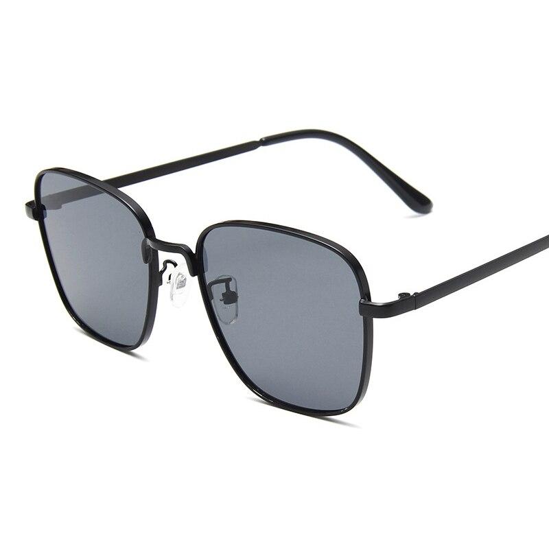 Купить женские солнцезащитные очки в винтажном стиле с квадратной металлической