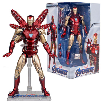 Marvel Avengers Endgame Iron Man Mk85 Ironman pieprz Potts Mk49 Rescue Nano broń zestaw Tony Stark figurka prezenty oryginalne tanie i dobre opinie Disney Model CN (pochodzenie) Unisex Jeden rozmiar ironman figure 18cm PIERWSZA EDYCJA 5-7 lat 8-11 lat 12-15 lat STARSZE DZIECI